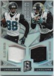 Allen Hurns / Allen Robinson 2016 Panini Spectra Synced Dual Jersey 84/199