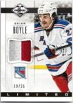 Brian Boyle 2012-13 Panini Limited Patch 19/25