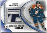 Brendan Ranford 2011-12 In The Game Logo Patch