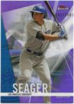Corey Seager 2017 Topps Finest Blue 161/250
