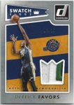 Derrick Favors 2015-16 Donruss Swatch Kings Patch 3/25
