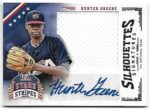 Hunter Greene 2015 Panini Stars and Stripes Silhouette Signatures Auto Jersey 1/5