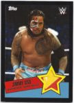 Jimmy Uso 2015 Topps Authentic Event Used Shirt Black Border 38/50