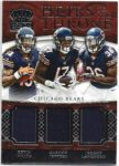 Kevin White / Alshon Jeffery / Jeremy Langford 2015 Panini Crown Royale Throne Triple Jersey 17/99