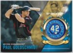 Paul Goldschmidt 2017 Topps Jackie Robinson 70th Anniversary Commemorative Patch